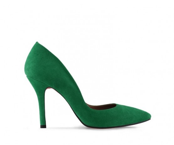 Туфли лодочки Musthave Green