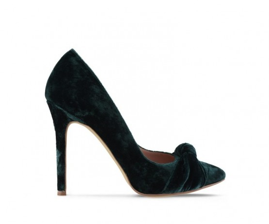 Туфли лодочки Royal Velvet Green